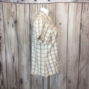 Cruel Girl Tops - 🎈Cruel Girl Beige Western Button Front Shirt XL